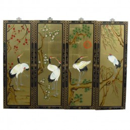 Chinese Wall Hanging Cranes