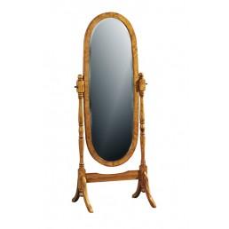 Hampton Walnut Cheval Mirror