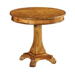 Hampton Walnut Pedestal Table