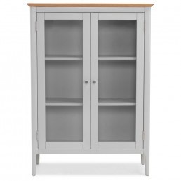 Homestead Painted Glazed Cabinet