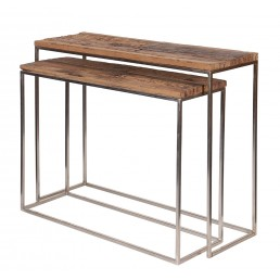 Double Console Table