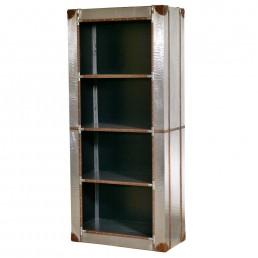 Industrial Aluminium Bookshelf