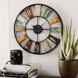 Archie Industrial Clock