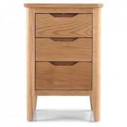 Karlstad Oak Bedside Cabinet