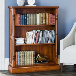 La Reine Low Open Bookcase
