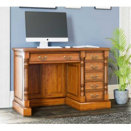 La Reine Single Pedestal Desk