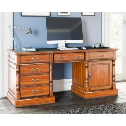 La Reine Twin Pedestal Desk