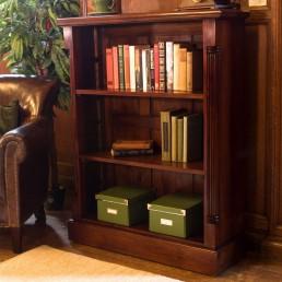 La Roque Mahogany Bookcase Low