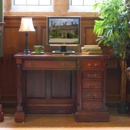La Roque Mahogany Computer Desk