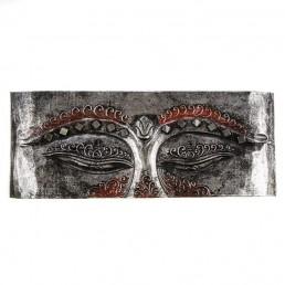 Buddha Eye 60cm  - Silver