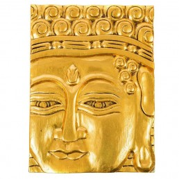 Buddha Panel – Gold