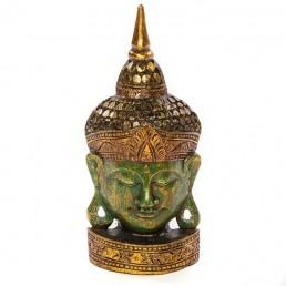 Buddha Mask 50cm Green