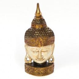 Buddha Mask 50cm – White