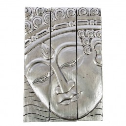 3 Panel Buddha Wall Hanging