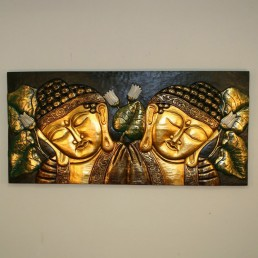 2 Panel Buddha Wall Hanging