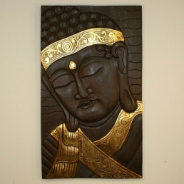 Buddha Gold Wall Hanging