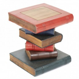 Book Stack Table Small Painted