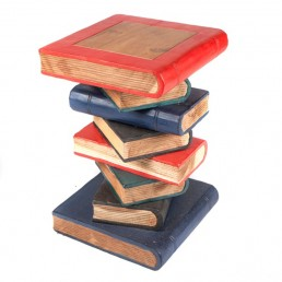 Book Stack Table – Painted