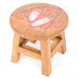 Childs Stool – Ballet Shoe