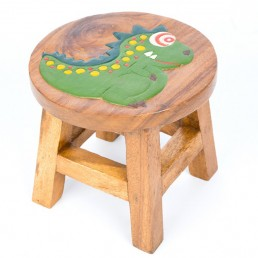 Childs Stool – Dinosaur