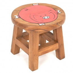 Childs Stool – Fat Pig