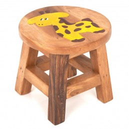 Childs Stool – Giraffe