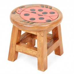 Childs Stool – Ladybird