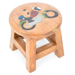 Childs Stool – Motorbike
