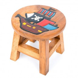 Childs Stool – Pirate Ship