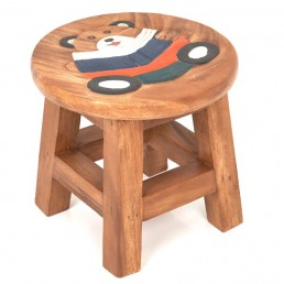 Childs Stool – Teddy Reading