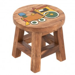 Childs Stool – Train
