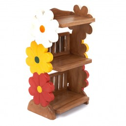 Childs Book Shelf – Flower