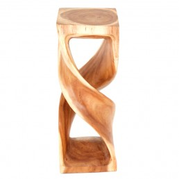 Twisted Double Twist Stool XL Clear
