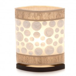 Oval Eye Sandal Table Lamp
