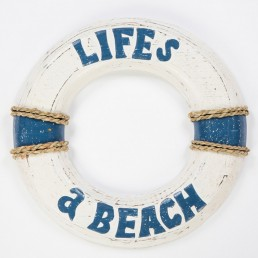 Life's A Beach Wall Hanging