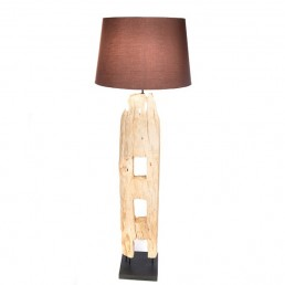 Fence Post Floor Lamp With Shade
