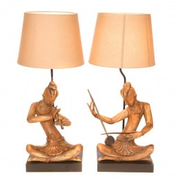 Music Table Lamp Set