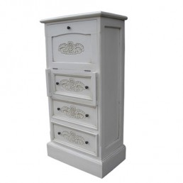 Lindenwood Chest Bureau White