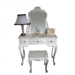 Lindenwood White Table Set