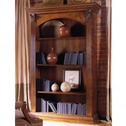 Walnut Single Bookcase