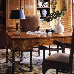 Walnut William And Mary Desk