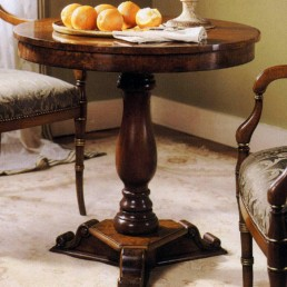 Walnut Tuscan Lamp Table