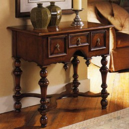 Walnut William And Mary Lowboy