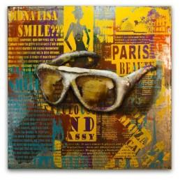 Sunglasses Metal Wall Art