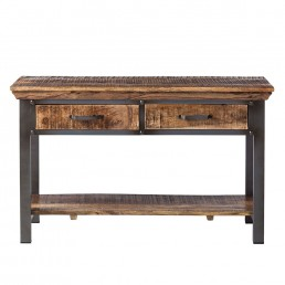Metropolis 2 Drawer Console Table
