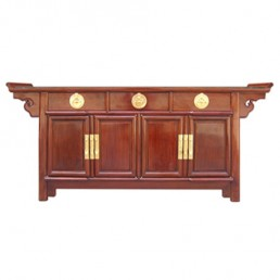 Rosewood Altar/Buffet Cabinet