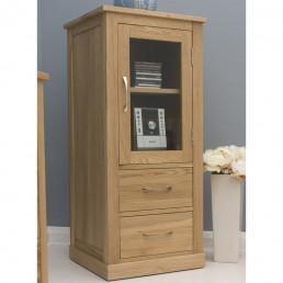 Contempo Oak Hi-Fi Cabinet