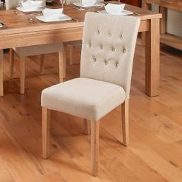 Contempo Oak Dining Chair 2