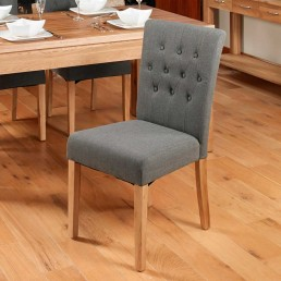 Contempo Oak Dining Chair 3