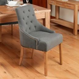 Contempo Oak Dining Chair 4